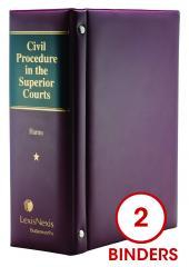 Civil Procedure in the Superior Courts cover