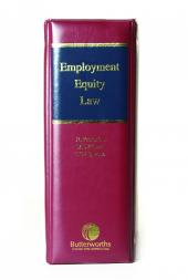Employment Equity Law cover