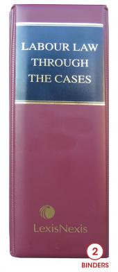 Labour Law Through the Cases cover