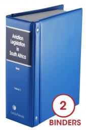 Aviation Legislation Service Volume 1 cover