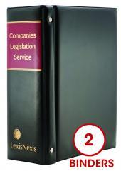 Companies Legislation Service cover