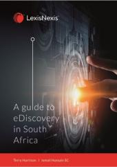 A guide to eDiscovery in South Africa cover
