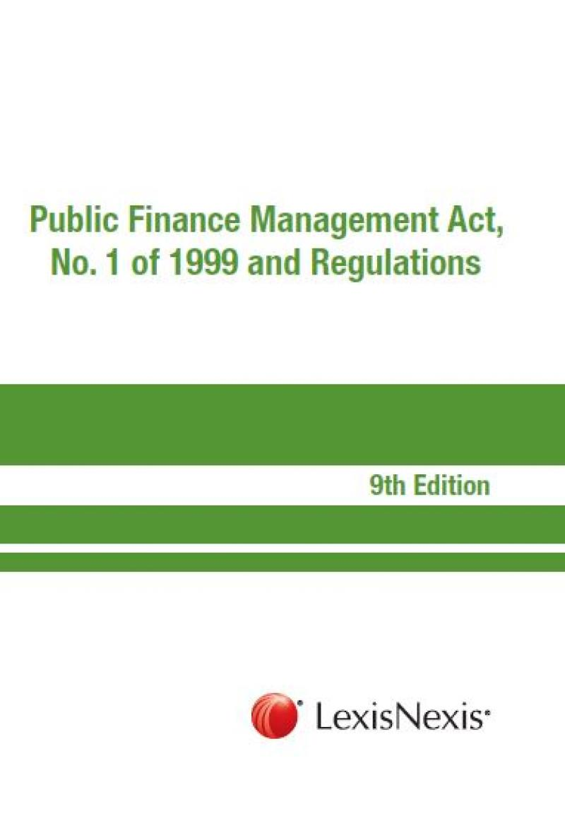 public finance management act no  1 of 1999 and